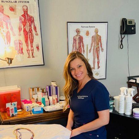 Physiologist Jenny Marchuk